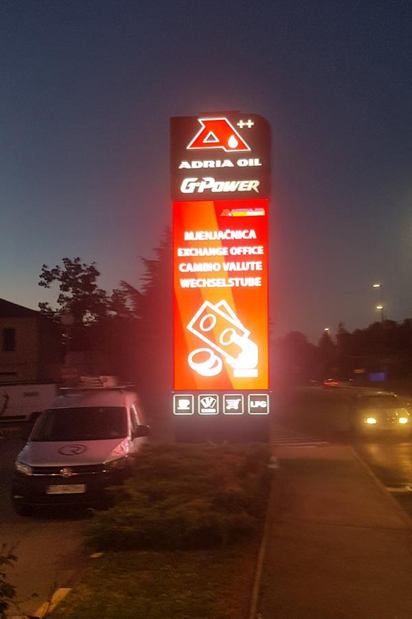Adrial Oil LED Totem