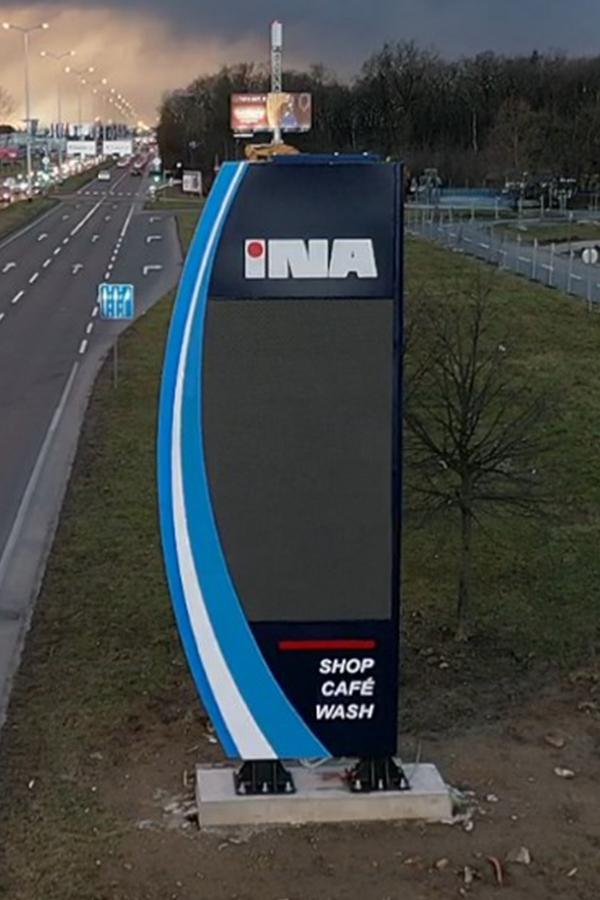 INA_Zagreb_Slavonska_Digitalni_totem
