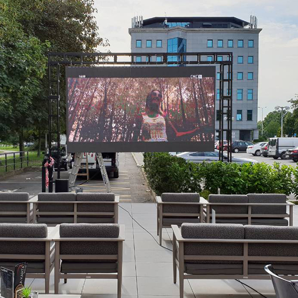 Outdoor rental led display